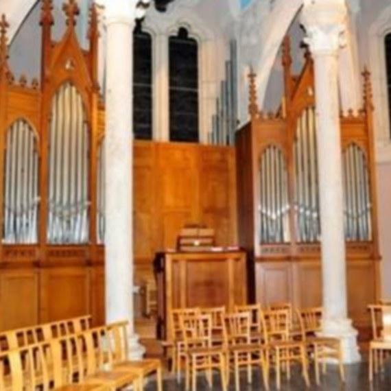 Relevage de l'orgue de Notre Dame des Anges