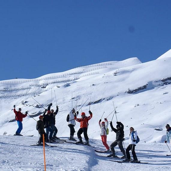 Un temps de partage pour les jeunes à la montagne