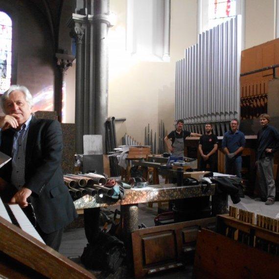 relevage de l'orgue St Louis à Roanne