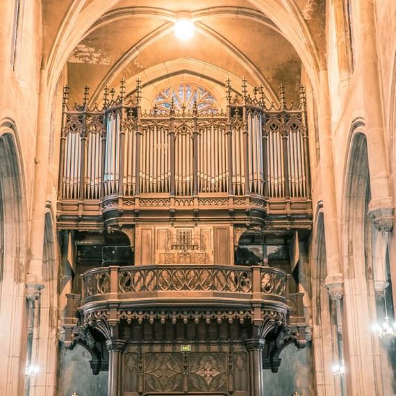 Restaurer l'orgue de Saint Georges