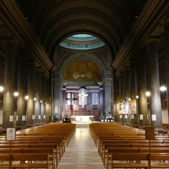 Rénovation intérieure de l'église Saint-Pothin à Lyon