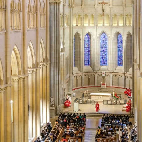 Création de nouveaux bancs pour la cathédrale Saint-Jean