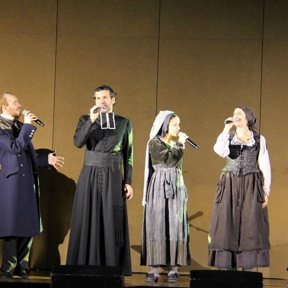 «Bernadette à Lourdes» : un spectacle adapté à tous