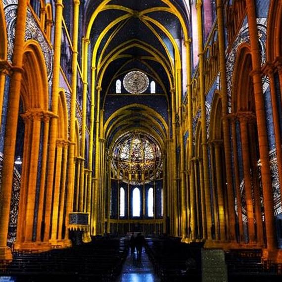 Création d'un spectacle son et lumière «Lyon, née de la lumière»