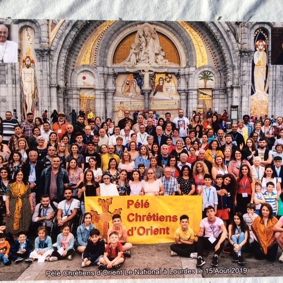 Permettre à des chrétiens d'Orient en précarité de découvrir Lourdes