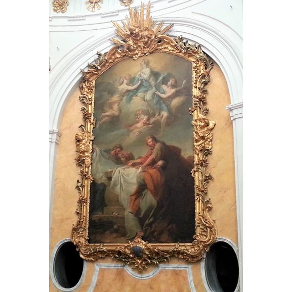 Restaurer deux oeuvres de Trémolières à St Bruno-les-Chartreux