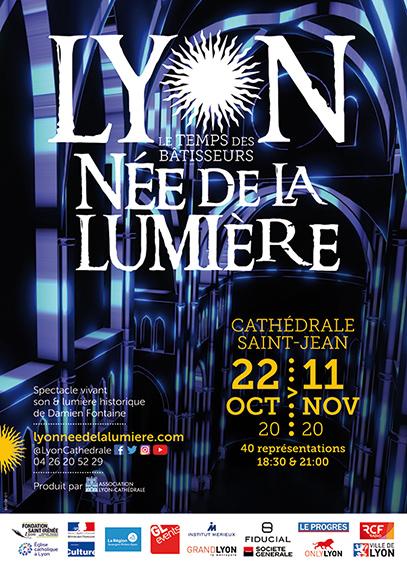 Lyon, née de la lumière : un spectacle unique en son genre du 22 octobre au 11 novembre 2020