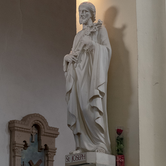 Restauration de 7 statues à Violay