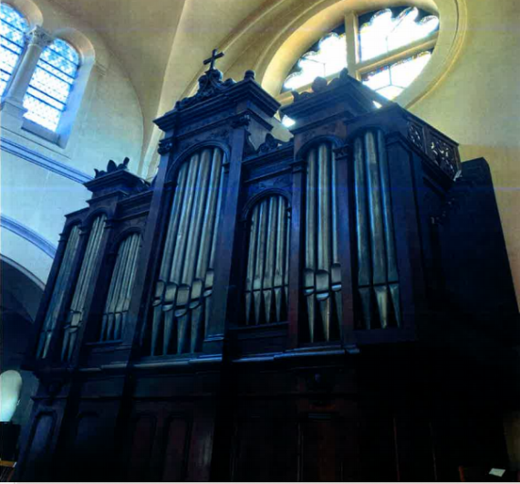 Restauration de l'orgue communal