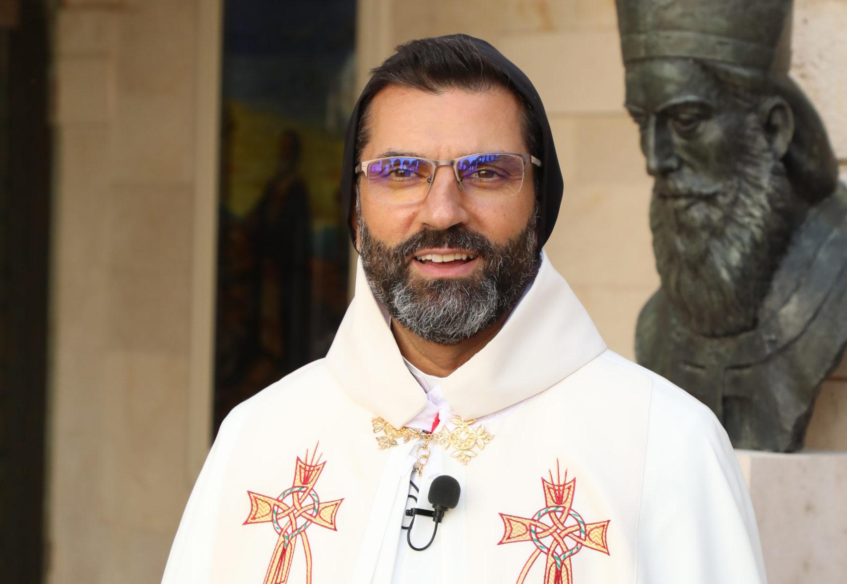 Ordination épiscopale de Mgr Antoine BOU NAJEM, nouvel archevêque du diocèse maronite d'Antélias le vendredi 9 avril 2021. © Diocèse d'Antélias, 9 avril 2021