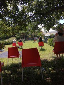 Traces d'enfances dans les jardins de l'Hôpital de Fourvière