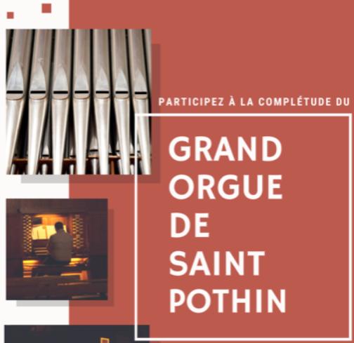 Fin de travaux pour l'orgue de Saint Pothin