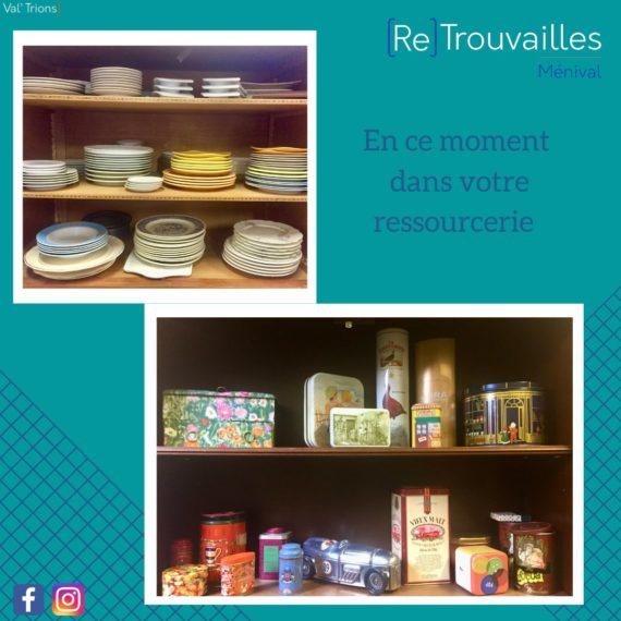 Travaux dans la ressourcerie de Ménival de Valtrions pour créer un chantier d'insertion professionnelle et donner une seconde vie aux objets !